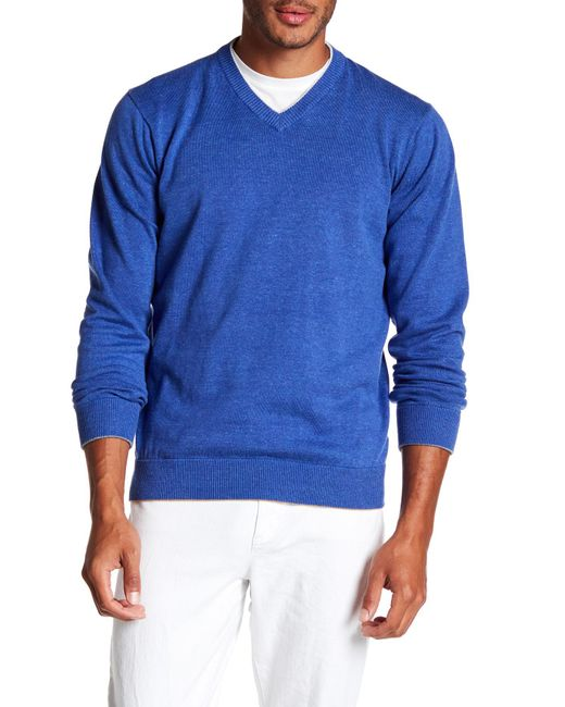 Robert Graham | Blue Antony Sweater for Men | Lyst