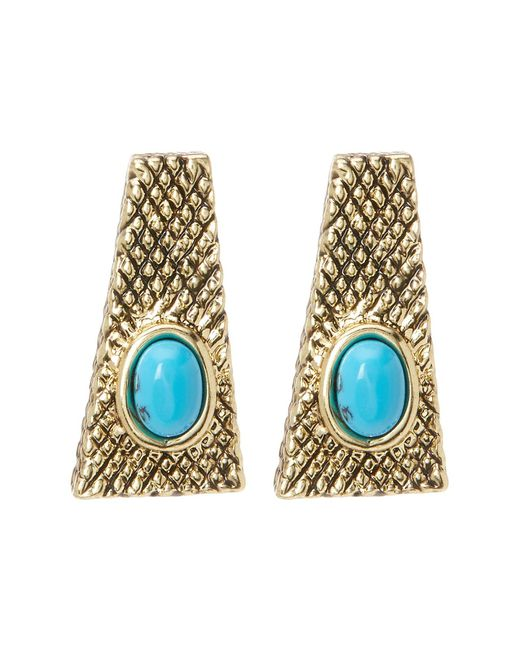 House of Harlow 1960 | Multicolor Tanta Crosshatch Stud Earrings | Lyst