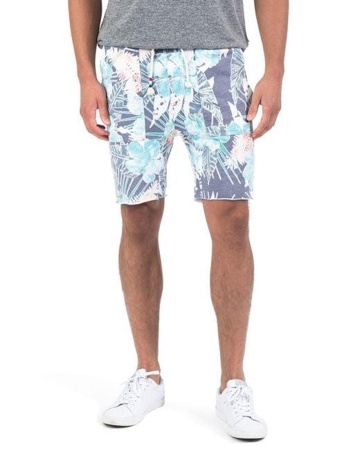 Sol Angeles - Blue Botanica Verde Shorts for Men - Lyst