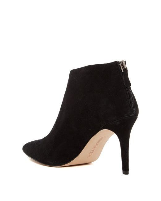 44d2be139 ... Enzo Angiolini - Black Ruthely Suede Bootie - Lyst ...