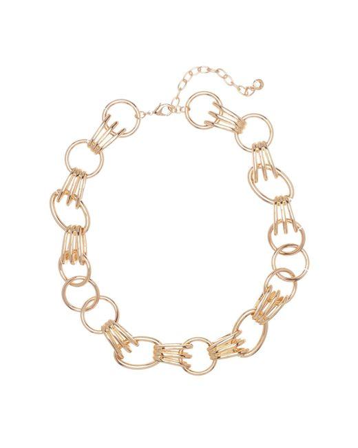 BaubleBar - Metallic Anitra Statement Necklace - Lyst