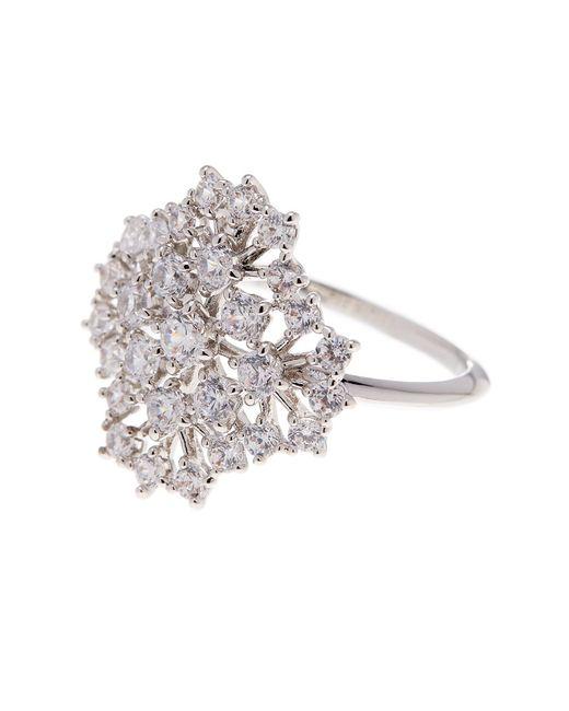 Nadri | Metallic Bouquet Cz Ring - Size 7 | Lyst
