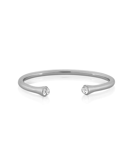 Melinda Maria - Metallic Norah Cz Cuff Bangle - Lyst