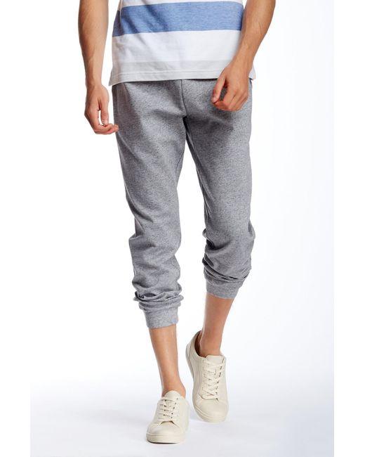 Original Penguin | Gray Bonded Beckford Sweatpants for Men | Lyst