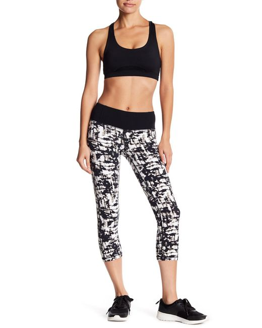 Body Glove | White Work It Print Capri Leggings | Lyst