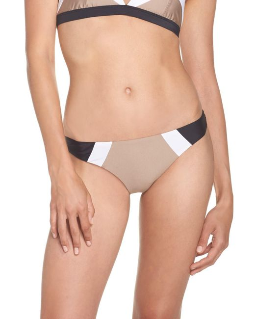 Pilyq - Multicolor Teeny Colorblock Bikini Bottoms - Lyst