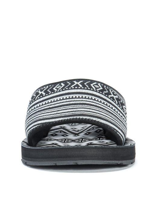 fdcaaea226f9 Lyst - Muk Luks Hendrix Slide Sandal in Black for Men - Save ...