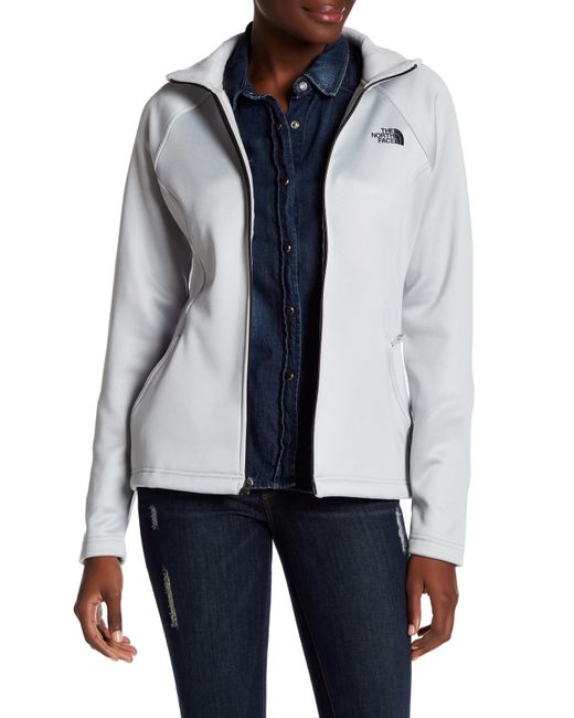 The North Face   Multicolor Lunar Ice Agave Zip Jacket   Lyst