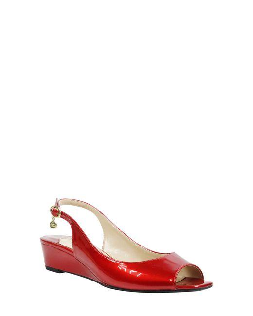J. Reneé - Red Alivia Slingback Sandal - Lyst