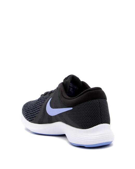 ... Nike - Blue Revolution 4 Running Sneaker for Men - Lyst ...
