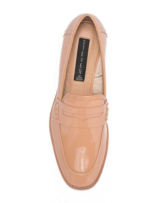 2722f1d991e ... Steven by Steve Madden - Multicolor Iona Leather Penny Loafer - Lyst ...