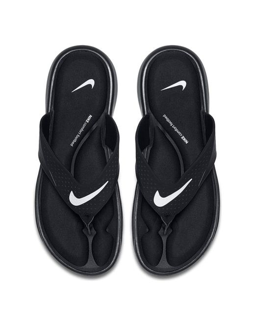 55635d9b8 Nike - Black Ultra Comfort Flip Flop for Men - Lyst ...