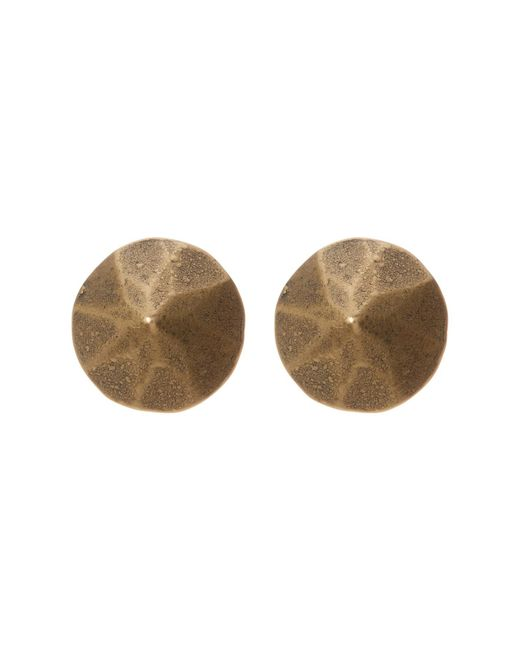 Loren Hope | Metallic Gem Geometric Stud Earrings | Lyst
