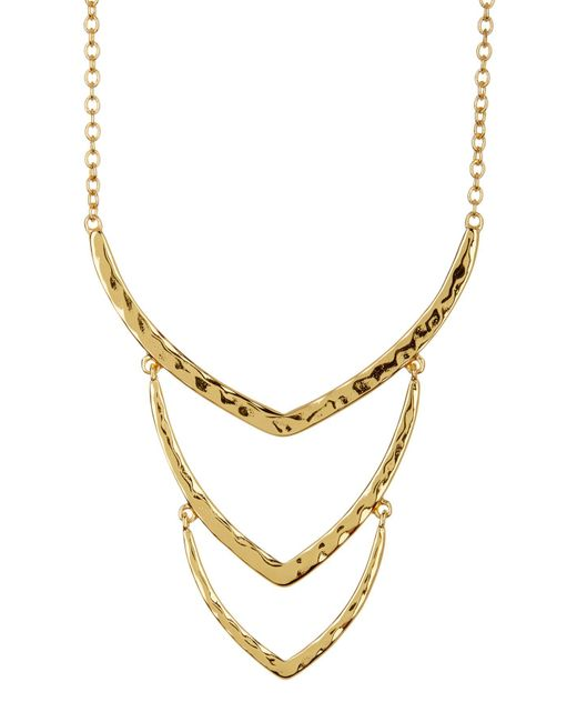 Gorjana - Metallic Sia Wrap Necklace - Lyst