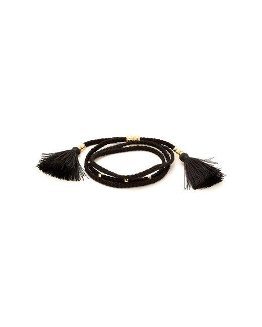 Gorjana | Metallic Miller Tassel Accented Beaded Bracelet | Lyst