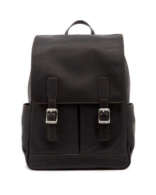 Frye - Black Oliver Leather Backpack - Lyst