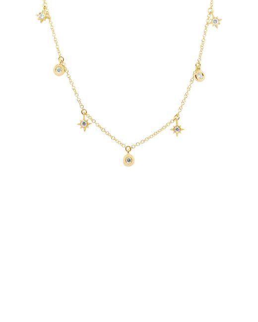 Ron Hami - Metallic 14k Yellow Gold Diamond Charm Necklace - 0.15 Ctw - Lyst