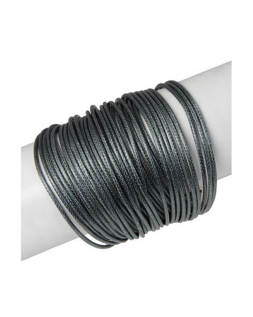 Saachi | Multicolor Gunmetal Multi-cord Bracelet | Lyst