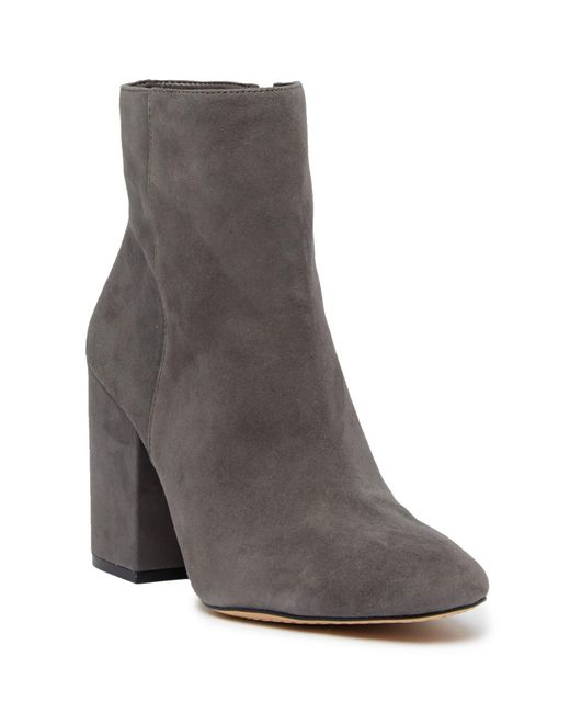 Vince Camuto - Gray Destilly Sock Boot - Lyst