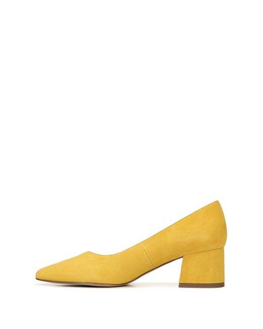 5aca3393733 ... Franco Sarto - Multicolor Callan Suede Block Heel Pump - Lyst ...
