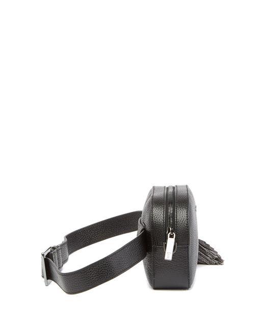 da1e537fc ... Ted Baker - Black Madiiee Leather Pom Pom Belt Bag - Lyst ...