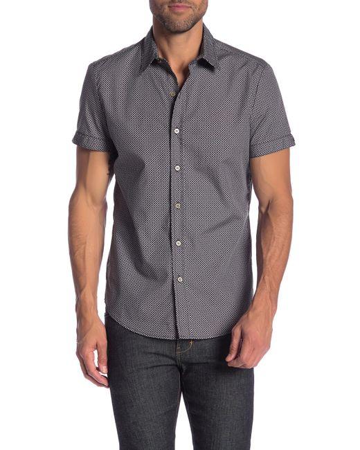 Parke & Ronen - Multicolor Biscayne Printed Short Sleeve Slim Fit Shirt for Men - Lyst