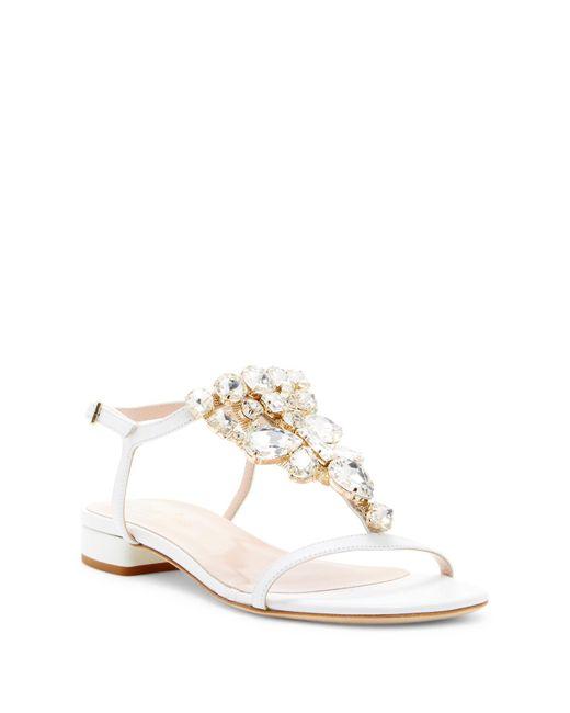 Kate Spade | White Fedra Sandal | Lyst