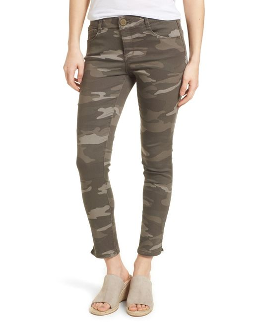 Wit & Wisdom - Green Ab-solution Camo Ankle Skimmer Pants (petite) - Lyst
