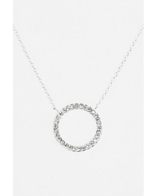 Judith Jack | Metallic Sterling Silver Charmed Life Boxed Circle Pendant Necklace | Lyst