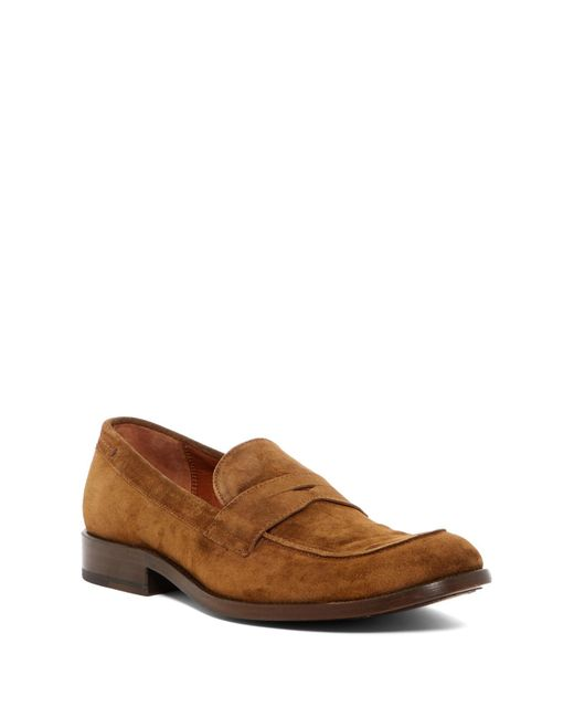 Frye - Brown Hayden Penny Loafer for Men - Lyst