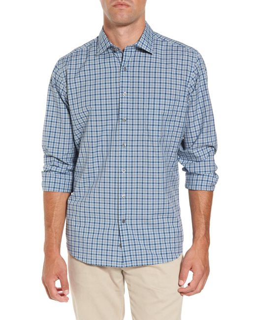 RODD AND GUNN - Blue Charming Creek Regular Fit Sport Shirt for Men - Lyst