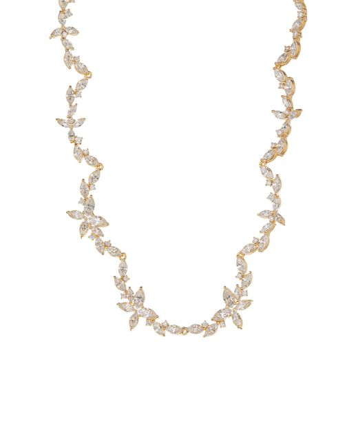 Nadri - Metallic Papillon All Around Cz Necklace - Lyst