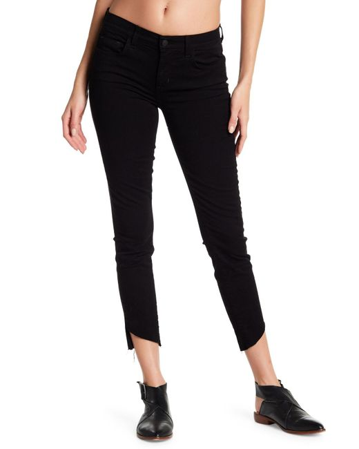 Siwy - Black Distressed And Paint Detail Skinny Leg Jeans - Lyst