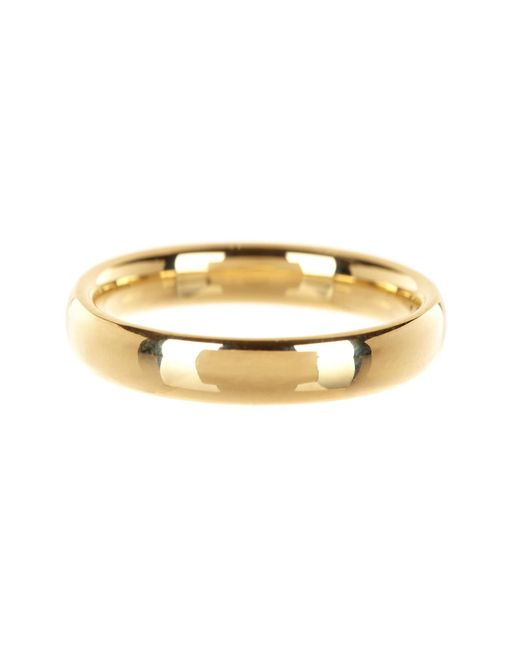 KARAT RUSH - 14k Yellow Gold 4mm Band - Lyst