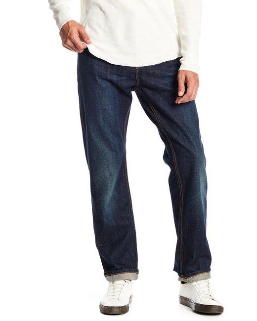 Vince - Blue Slim Denim Jeans for Men - Lyst