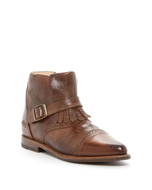 Bed Stu - Brown Dipper Leather Bootie - Lyst