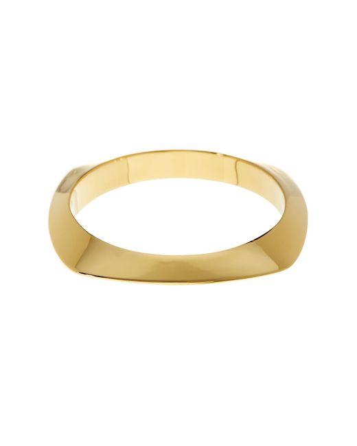 Argento Vivo | Metallic 18k Gold Plated Square Bangle | Lyst
