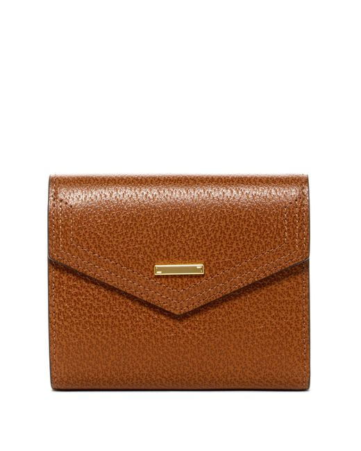 Lodis | Brown Stephanie Lana Leather French Purse | Lyst