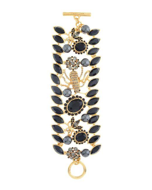 Oscar de la Renta - Multicolor Swarovski Crystal Accent Wildlife Bracelet - Lyst
