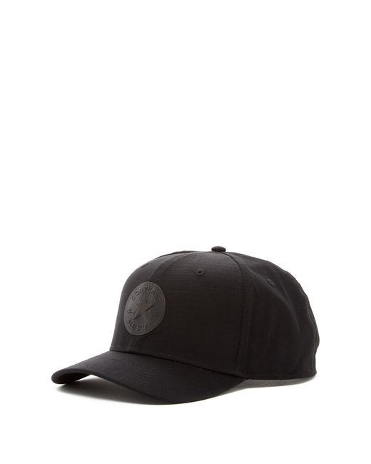 Converse | Black Ripstop Snapback Cap for Men | Lyst