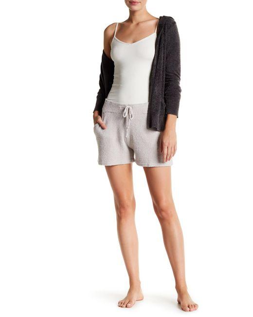 Barefoot Dreams - Metallic Cozy Chic Pajama Shorts - Lyst