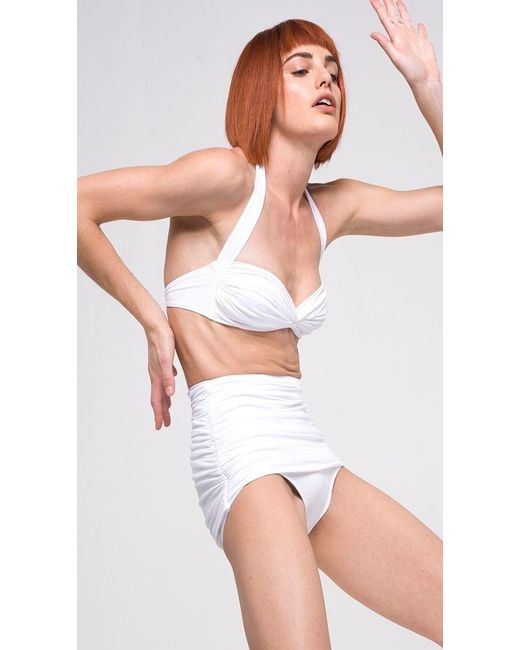 Norma Kamali | White Bill Bottom | Lyst