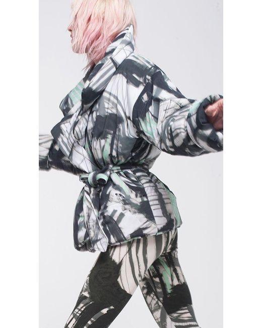 Norma kamali sleeping bag coat short lyst - Norma kamali costumi da bagno ...