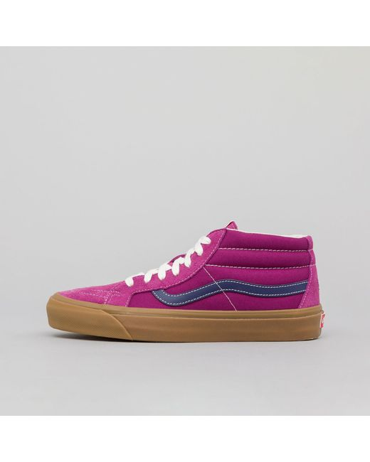 041906d616 Vans - Multicolor Og Sk8-mid Lx In Amaranth for Men - Lyst ...