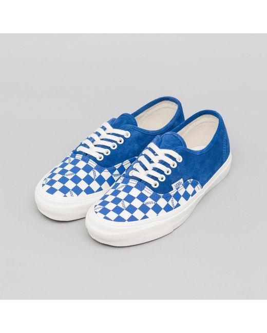 992eeeae13 ... Vans - Authentic Lx In True Blue for Men - Lyst ...