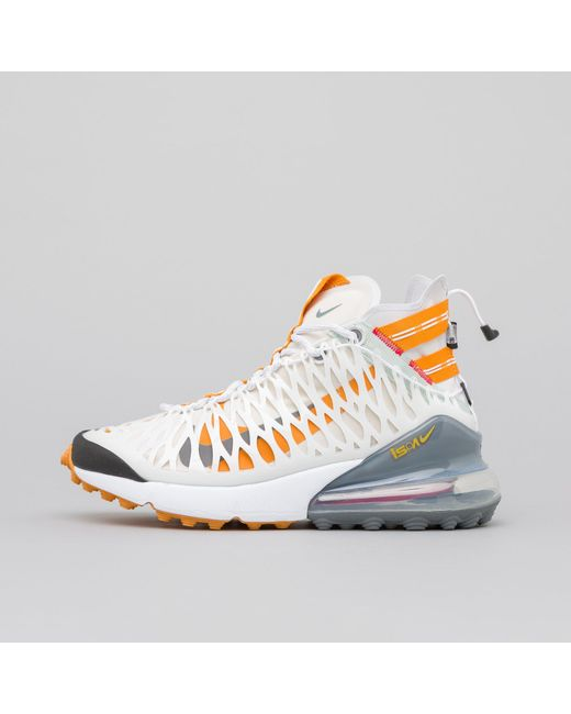 quality design 8c20d 09f5f Nike - Air Max 270 Ispa In Whiteamber for Men - Lyst ...