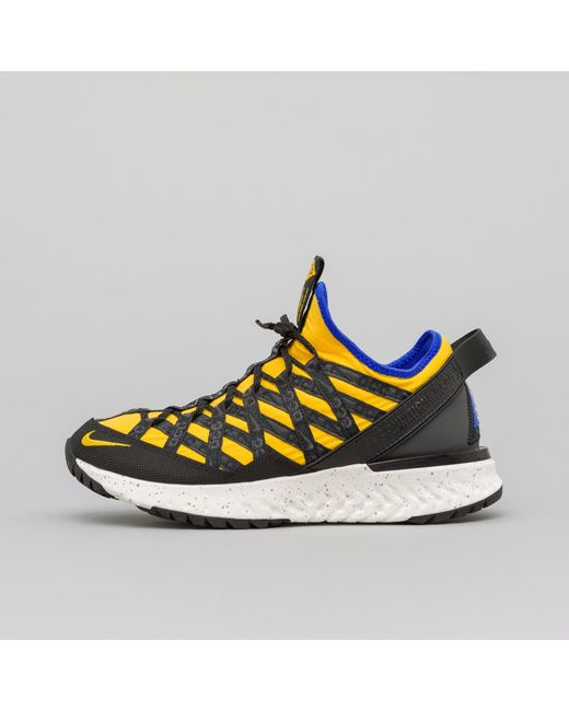 timeless design 4287a 7ca27 Nike - Acg React Terra Gobe In Amarillo black for Men - Lyst ...