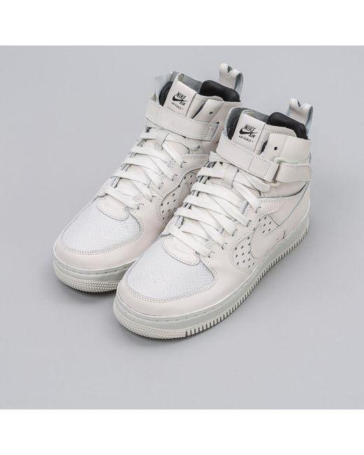 best sneakers 55395 8ec77 Nike   White Lab Women s Air Force 1 Hi Cmft Tc Sp In ...