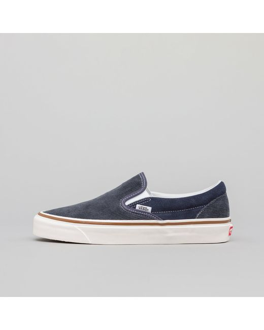 168f6aedec Lyst - Vans Classic Slip-on 9 Anaheim Factory In Og Navy in Blue for Men