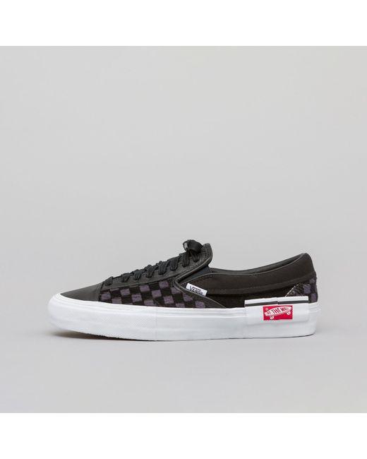 6938602652e1 Lyst - Vans Slip-on Cap Lx In Black true White in Black for Men